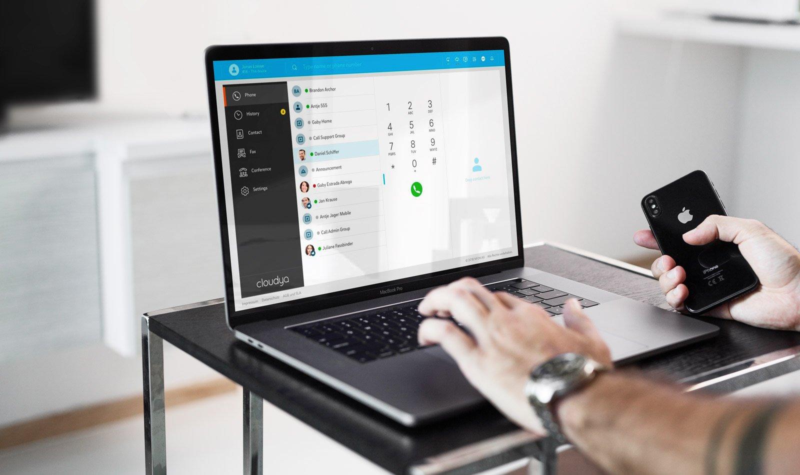 fácil usabilidad en los escritorios virtuales
