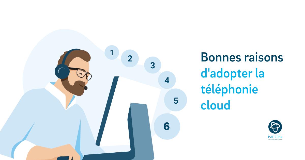 Pourquoi les PME s'emparent-elles de la téléphonie cloud?