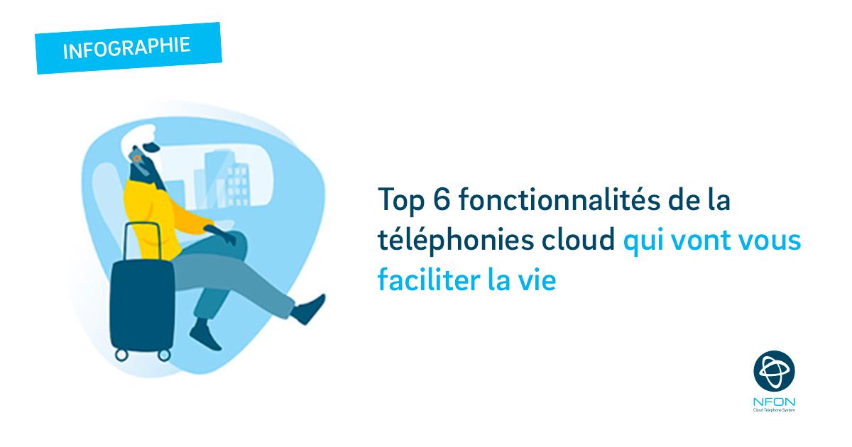 [INFOGRAPHIE] Top des fonctionnalités dans le Cloud