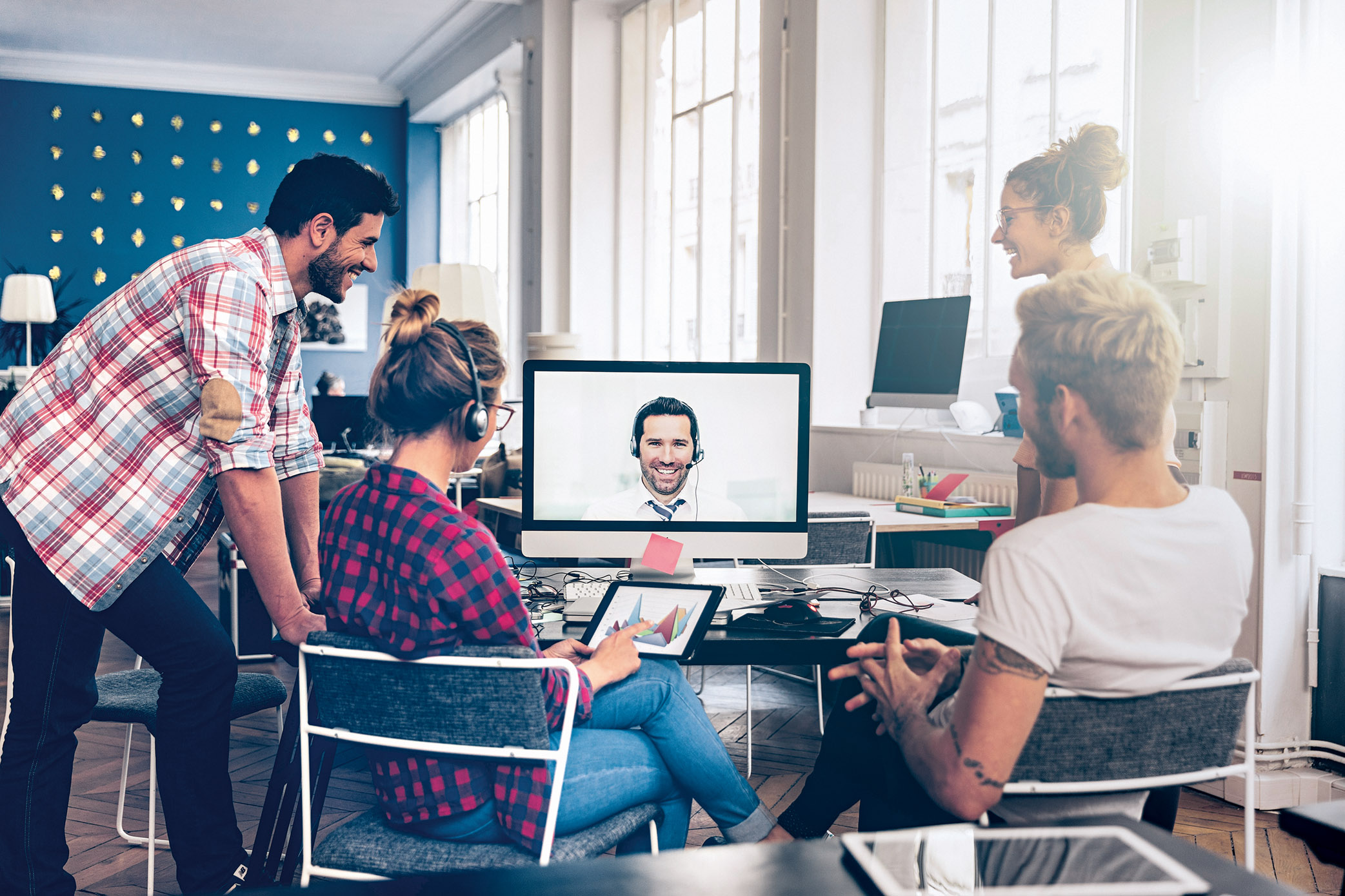 5 consejos para teletrabajar con éxito en equipo