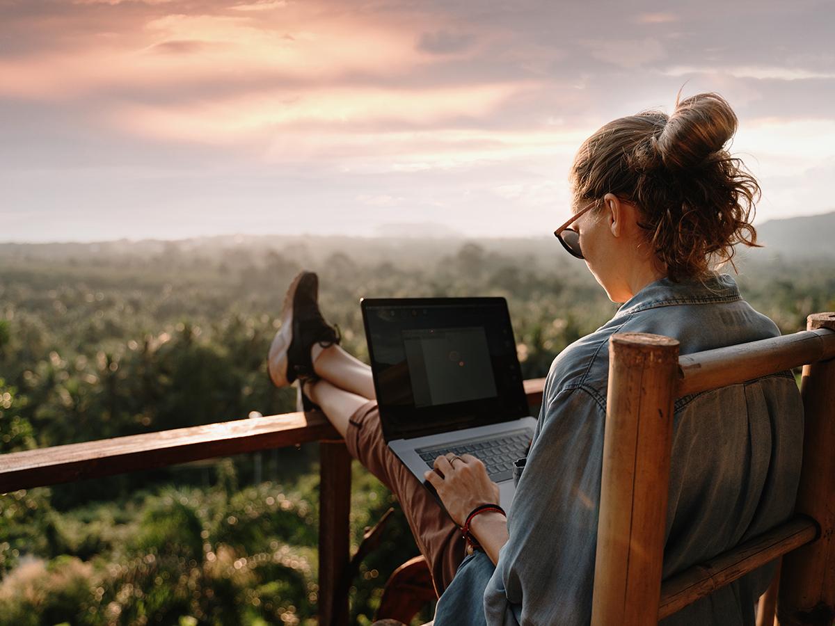 Smart working e vacanze: un resoconto dell'estate 2021